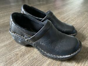 BOC Born Concept Peggy Clogs Black Size 6.5