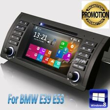 "DAB+BMW E53 Autoradio DVD E39 X5 M5 5 Series GPS SatNav BT Bluetooth TV 7""7161FR"