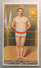 1888 N162 Goodwin Champions JOE ACTON Wrestler tobacco card
