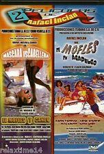 El mofles en Acapulco & máscara vs abriera dos películas de Rafael Inclán new