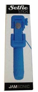✅Jamsonic Pocket Selfie Stick WIRED BLUE