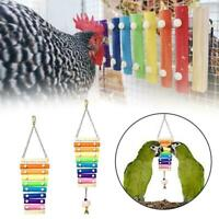 Chicken Xylophone Toy For Hens Suspensible Wooden Chicken Coop Chew Toy M9I5