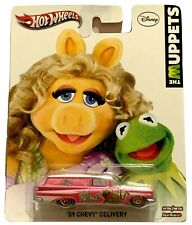 Hot Wheels ['59 Chevy Delivery Wagon] 2012 The Muppets Kermit Real Riders #X8318