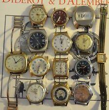 Lot de montres ancienne electra SDH aurore dolar FHB mécanique et automatic ok