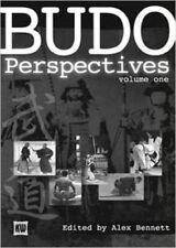Japanese Budo Perspectives karate judo aikido kendo Hardcover Alex Bennet