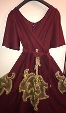 BRAND NEW Handmade Beaded Dress