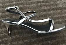 BNWT NEW LOOK Silver Strappy Sandals Shoes Size UK 6 £23.99