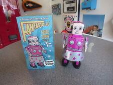 CLOCKWORK TIN PINK VENUS THE ROBOT IN BOX