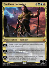 1 x Sarkhan Unbroken - Raro - Draghi Of Tarkir - Mtg - NM - Magic The Gathering