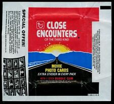 Close Encounters Of The Third Kind, Advert 1, Trading Cards Wrapper #W25