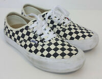 Vans Pro Ultracush Black and White Checker Lo Top Skate Shoes Mens 9