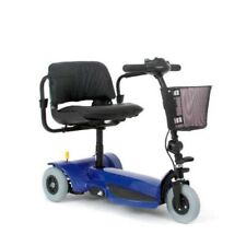 Pride Mobility Go-Go Elite Traveller 3-Wheel Mobility Scooter - Blue