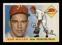 1955 Topps Set Break # 157 Bob Miller VG-EX *OBGcards*