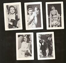 MGM Movie Card Set / Lot 1944-1950 (5 cards) JUDY GARLAND ~ NM-MINT Condition
