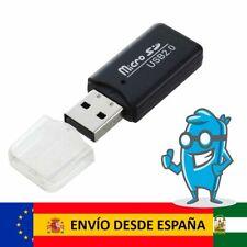 Adaptador Lector Tarjeta Micro SD a USB 2.0 | TOP Calidad | 35MB/s