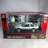 1/24 DISM Toyota Corolla LEVIN AE86 1985 White / Black #74367
