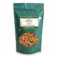 Organic Saw Palmetto Berry Herb Tea Serenoa Repens Herbal Remedy - 1 lb bag