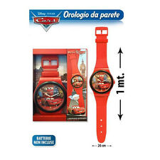 CARS SAETTA MC QUEEN orologio da polso per parete 100 cm idea regalo