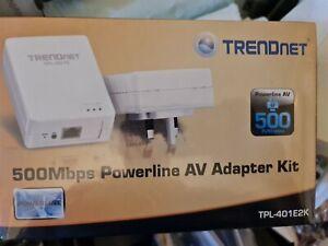 Trendnet Powerline Av Adapter 500mps TPL-401E2K