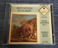 Classical Gold – Beethoven: Piano Concerto No. 4 – Schubert: Famous Piano Pieces