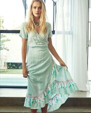 Spell Gypsy House Of Skye Jypsee Flameco Wrap Dress Size S/M BNWT