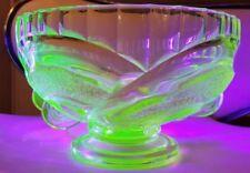 Bowl Antique Original Uranium Date-Lined Glass