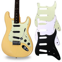3Ply SSS 11 Holes Strat Electric Guitar Pickguard for FD Strat Electric Guitar