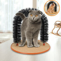 Cat Scratcher Arch Post Scratching Toy Scratch Grooming Furniture Funny For
