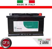BATTERIA AUTO 100 Ah - 850A Spunto | Garanzia Italia | 315x175x190 | 100Ah |