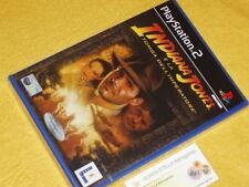 INDIANA JONES E LA TOMBA DELL'IMPERATORE x PLAYSTATION 2 PS2 NUOVO VER. ITALIANA