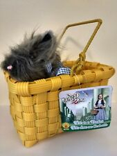 Costume Accessory Licensed Kansas Dorothy Wizard of Oz Toto In Basket