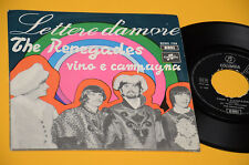 "RENEGADES 7"" 45 VINO E CAMPAGNA 1° ST ORIG ITALY BEAT 1968 EX+ TOP COLLECTORS"