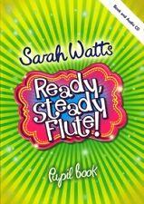 READY STEADY FLUTE Watts Pupil Book + CD