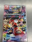 Mario Kart 8 Deluxe Nintendo Switch game and case-FREE SHIPPING