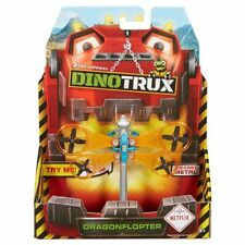 DINOTRUX Diecast Metal Vehicle ~ DRAGONFLOPTER ~ NEW Mattel Dreamworks Toys Gift