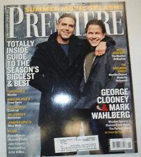 Premiere Magazine Mark Wahlberg & George Clooney June 2000 031015R