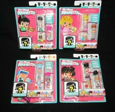 Lot of 4 My Mini MixieQs Series 1 Heiress Robot Drummer Polka Dots 4-Pack NEW