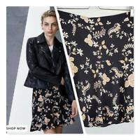 [ WITCHERY ] Womens Printed Flip Skirt | Size AU 10 or US 6