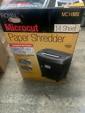 Royal Mc14mx Shredder Micro Cut