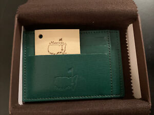 Augusta National Golf Masters Green Card Case NEW IN BOX