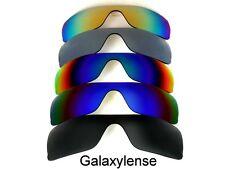 Galaxy Replacement Lenses for Oakley Batwolf Black/Blue/Green/Titanium/Gold 5PCS