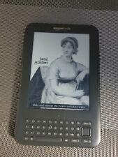 Amazon Kindle 3rd Generation Kindle Keyboard E Reader - Graphite Vgc