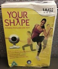 Your Shape Fitness Focus On You With Camera Rare PAL Version Nintendo Wii Sealed