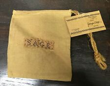 Primitives By Kathy Sage Cloth Bag New With Tag