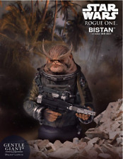 Star Wars Gentle Giant Rogue One Bistan Mini-Bust Statue