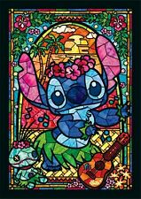 TENYO 266 pcss Jigsaw Puzzle Disney Stitch Stained Glass Art Japan NEW