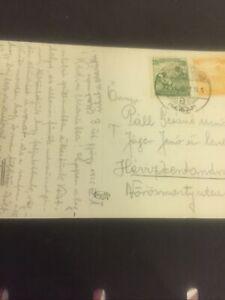 #124 Hungary.Old Postcard.