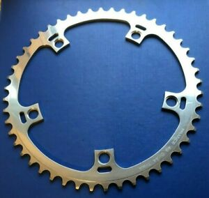 """NEW TA SPECIALITIES 49 TOOTH CHAINRING,5 HOLE-144MM BCD,TRACK 1/8"""",FIXED FIXIE"""