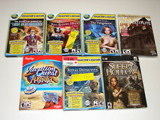 lot of 12 HIDDEN OBJECT SEEK & FIND (PC GAMES)  *NEW*  LOW PRICE +FREE SHIPPING