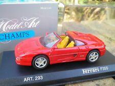 MINICHAMPS FERRARI F 355 SPIDER 1994 rouge comme neuf en boite